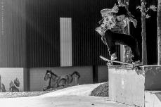 Bruno Felipe Kbelo Nollie Tailslide @ Cisco Skate Plaza © Lucas Adriano 2014