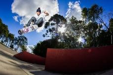 Osni Ribeiro Ss Heel @ Cisco Skate Plaza © Lucas Adriano 2014