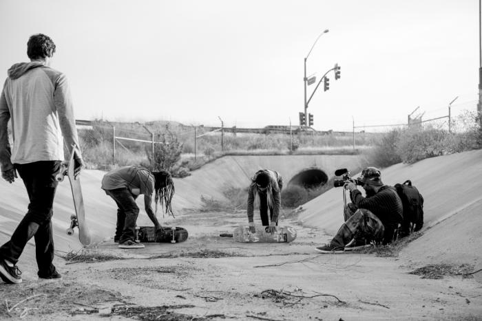 Limpeza do Ditch antes da sessão