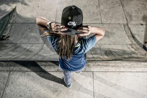 Pamela Rosa para a NikeSB